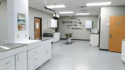 Hospital lab area